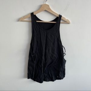 Under Armour - Black Tank - Cut Out Sides